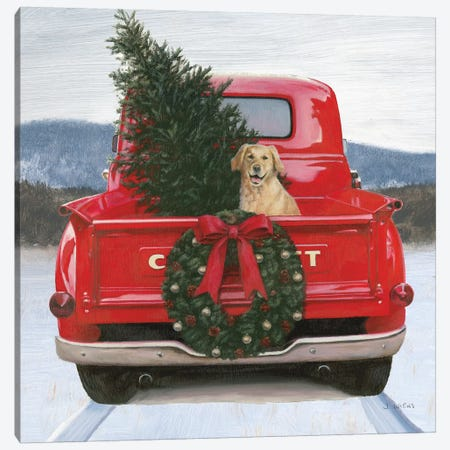 Christmas in the Heartland IV Canvas Print #JAW61} by James Wiens Canvas Art