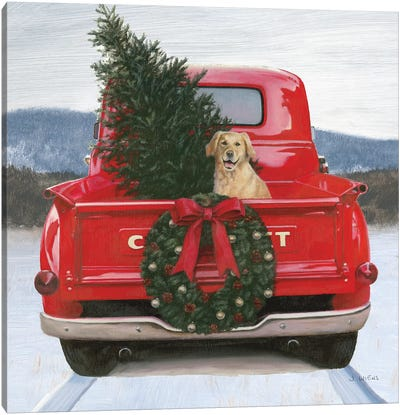 Christmas in the Heartland IV Canvas Art Print
