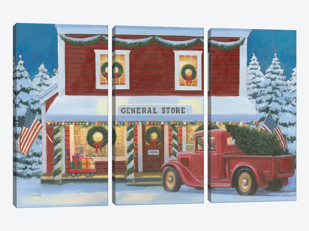 Holiday Moments I by James Wiens 3-piece Canvas Artwork