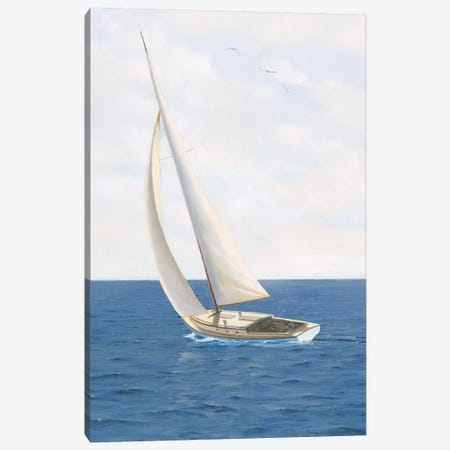 A Day at Sea II Canvas Print #JAW6} by James Wiens Canvas Art Print