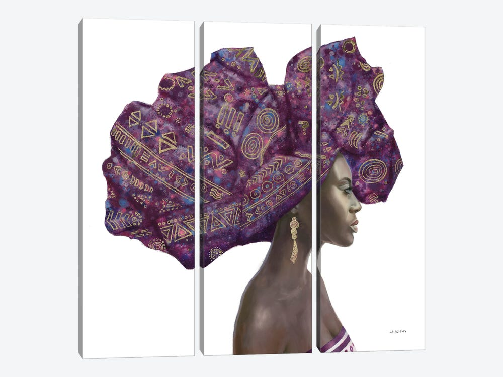Pure Style II by James Wiens 3-piece Canvas Artwork