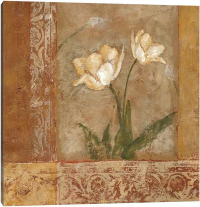 Morning Floral II Canvas Art Print