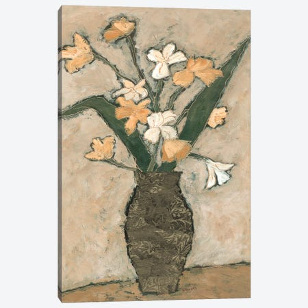 Flowers From B I Canvas Print #JBA30} by Judi Bagnato Art Print