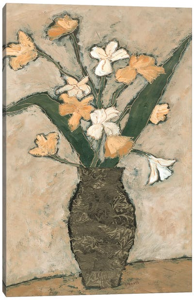 Flowers From B I Canvas Art Print