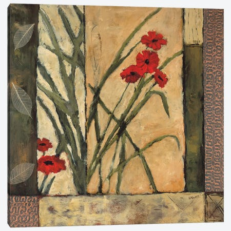 Lilies II 3-Piece Canvas #JBA9} by Judi Bagnato Canvas Wall Art