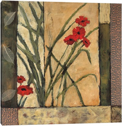 Lilies II Canvas Art Print
