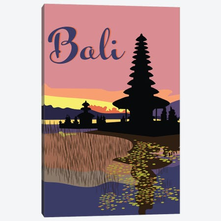 Bali Canvas Print #JBC11} by Jen Bucheli Art Print