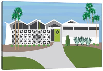 Palm Springs Living I Canvas Art Print