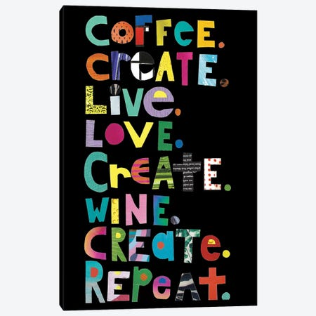Create Canvas Print #JBC1} by Jen Bucheli Canvas Wall Art