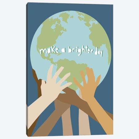Make a Brighter Day Canvas Print #JBC30} by Jen Bucheli Canvas Print