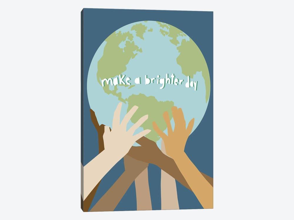 Make a Brighter Day by Jen Bucheli 1-piece Canvas Wall Art
