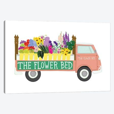 Flower Bed Canvas Print #JBC40} by Jen Bucheli Canvas Art