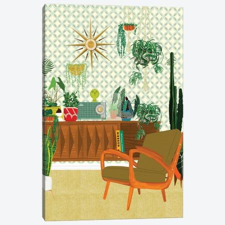 Plant Living Room Canvas Print #JBC44} by Jen Bucheli Canvas Print