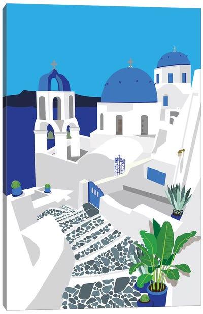 Santorini Canvas Art Print
