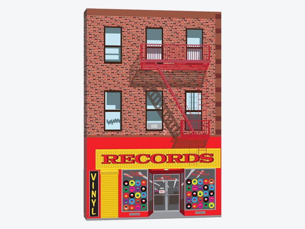 VInyl Records by Jen Bucheli 1-piece Canvas Art