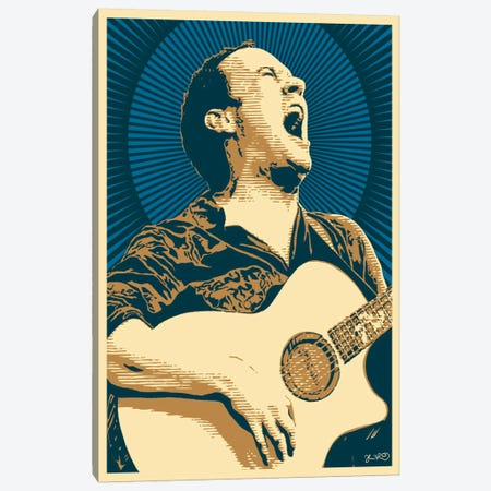Dave Matthews Canvas Print #JBD10} by Joshua Budich Canvas Wall Art