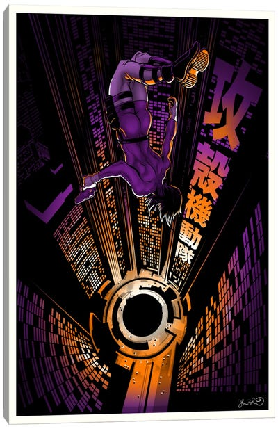 Ghost In The Shell Canvas Print #JBD16