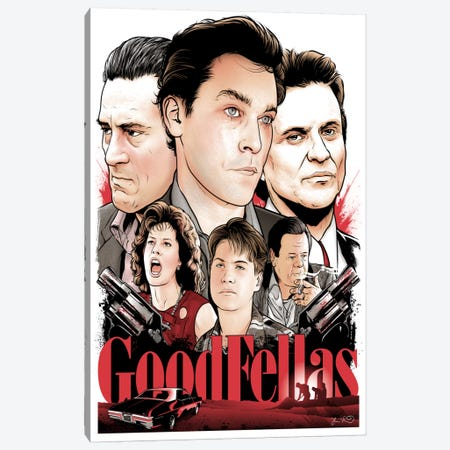 Goodfellas Canvas Print #JBD17} by Joshua Budich Art Print