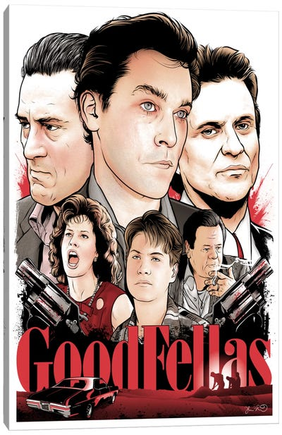 Goodfellas Canvas Print #JBD17