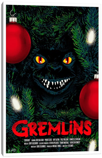 Gremlins Canvas Art Print
