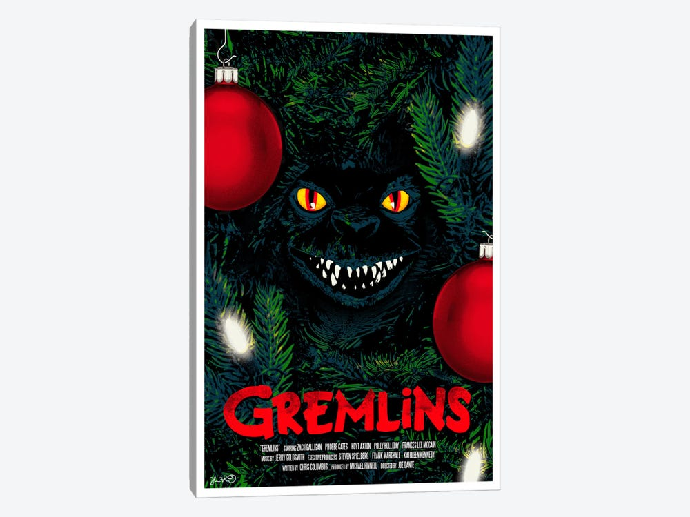 Gremlins by Joshua Budich 1-piece Canvas Print