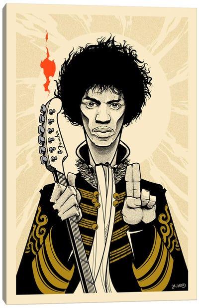 Hendrix Canvas Print #JBD19