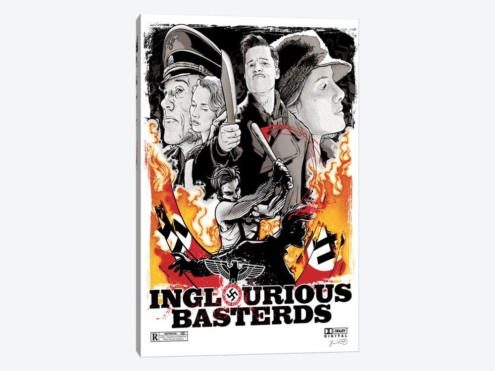 Inglourious Basterds by Joshua Budich 1-piece Canvas Artwork