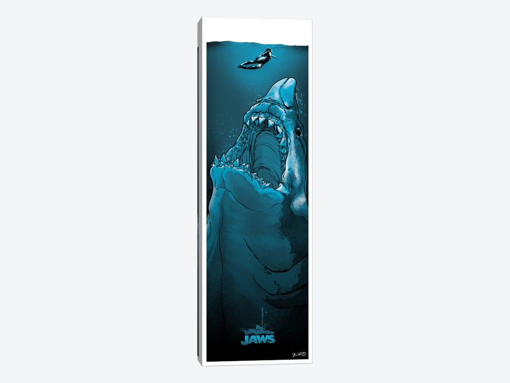 Jaws 1-piece Canvas Print