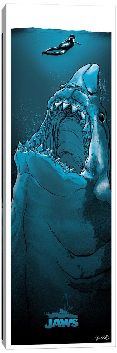 Jaws Canvas Art Print