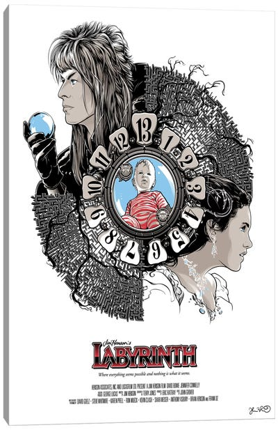 Labyrinth Canvas Art Print