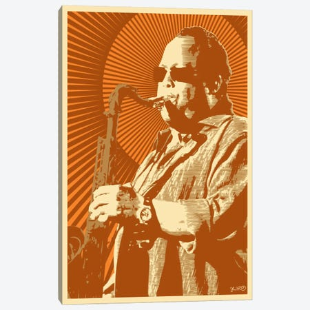 Leroi Moore Canvas Print #JBD27} by Joshua Budich Canvas Art