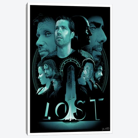 Lost Canvas Print #JBD28} by Joshua Budich Art Print