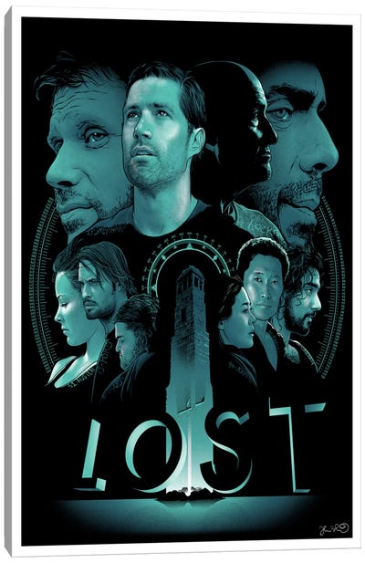 Lost Canvas Art Print