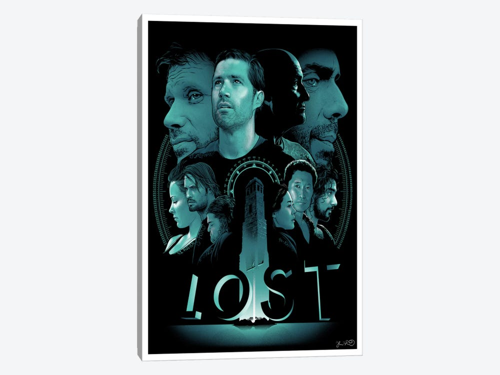 Lost by Joshua Budich 1-piece Canvas Artwork