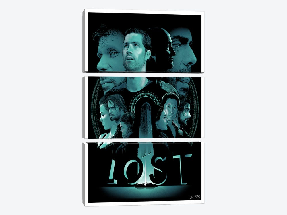 Lost by Joshua Budich 3-piece Canvas Art
