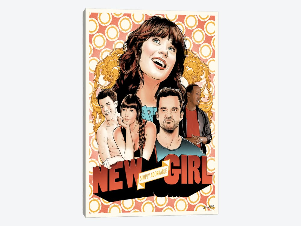 New Girl by Joshua Budich 1-piece Canvas Art Print