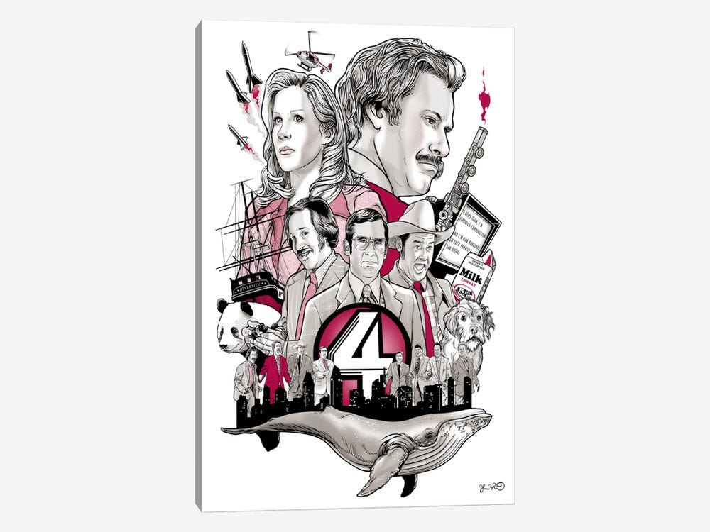 Anchorman by Joshua Budich 1-piece Art Print