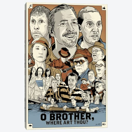 O Brother Where Art Thou? Canvas Print #JBD30} by Joshua Budich Canvas Artwork