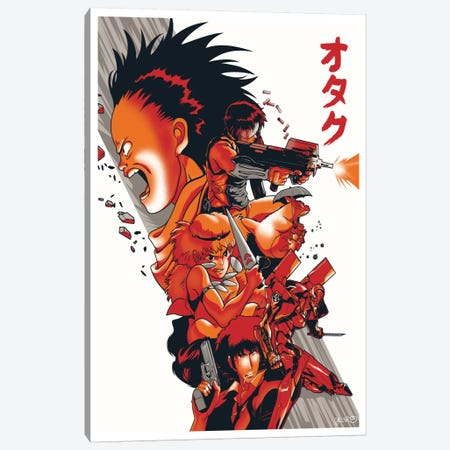 Otaku Obscura Canvas Print #JBD31} by Joshua Budich Canvas Wall Art