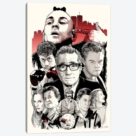 Scorsese Canvas Print #JBD38} by Joshua Budich Canvas Artwork