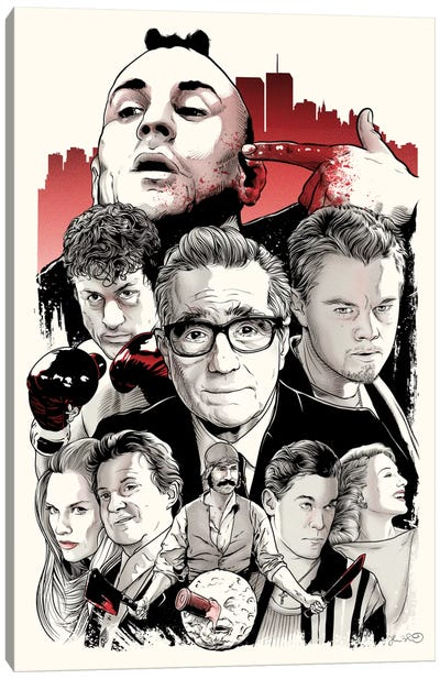 Scorsese Canvas Art Print