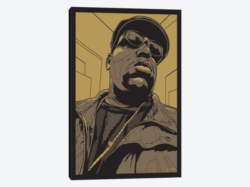 Biggie by Joshua Budich 1-piece Canvas Wall Art