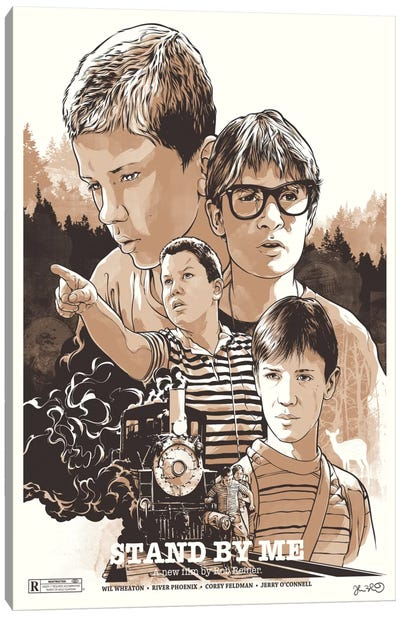 Stand By Me Canvas Print #JBD40