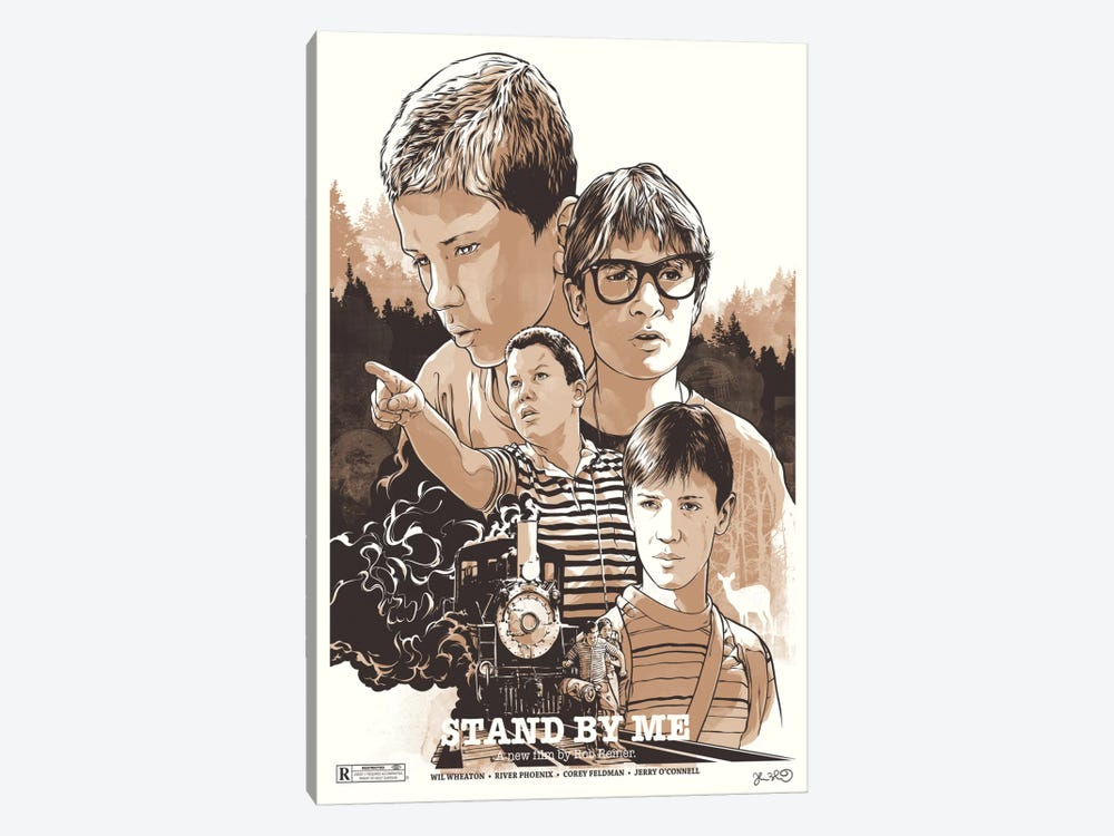 Stand By Me by Joshua Budich 1-piece Canvas Art