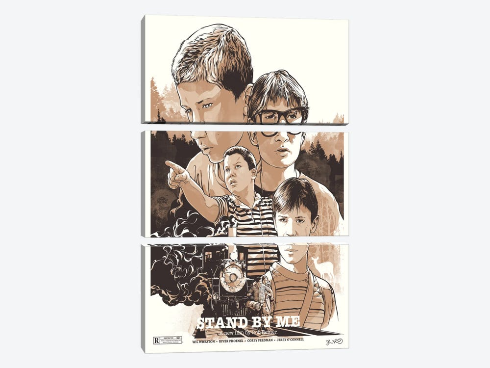 Stand By Me by Joshua Budich 3-piece Canvas Wall Art