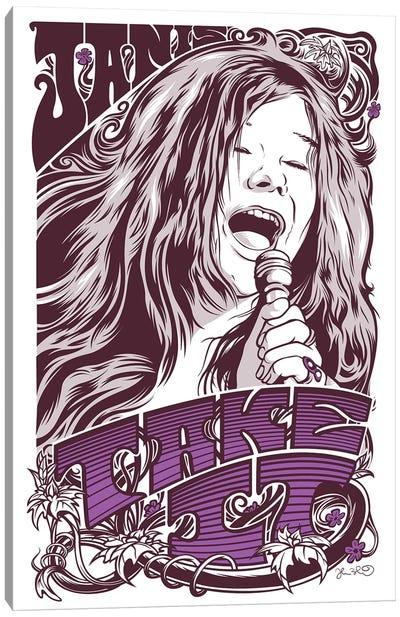 Take It (Janis Joplin) Canvas Art Print