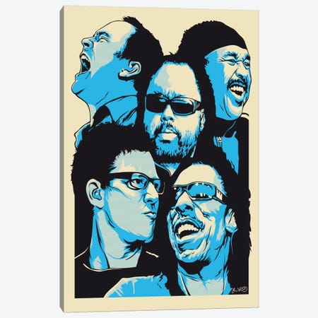 The Band Canvas Print #JBD45} by Joshua Budich Canvas Art