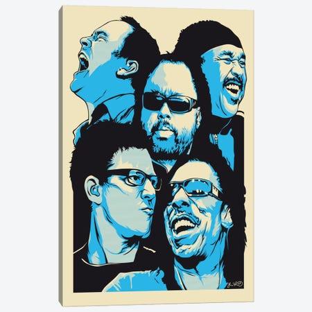 The Band Canvas Print #JBD45} by Joshua Budich Canvas Art