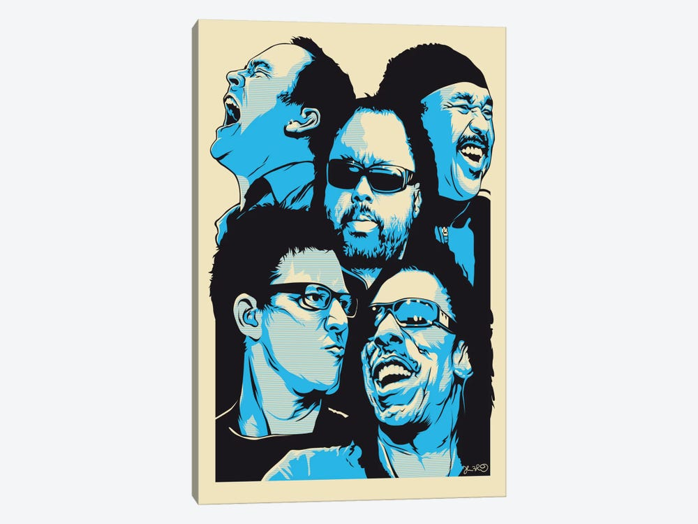 The Band by Joshua Budich 1-piece Canvas Print