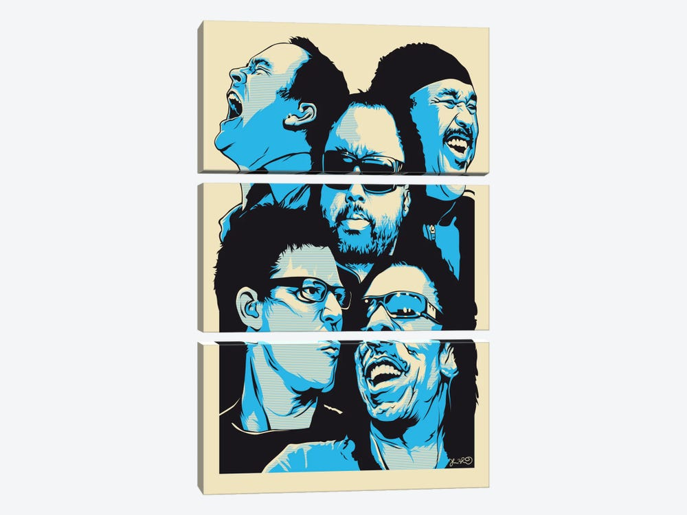 The Band by Joshua Budich 3-piece Canvas Print